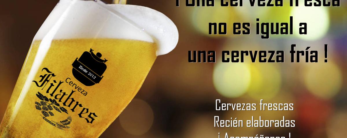 Cerveza Artesanal Filabres
